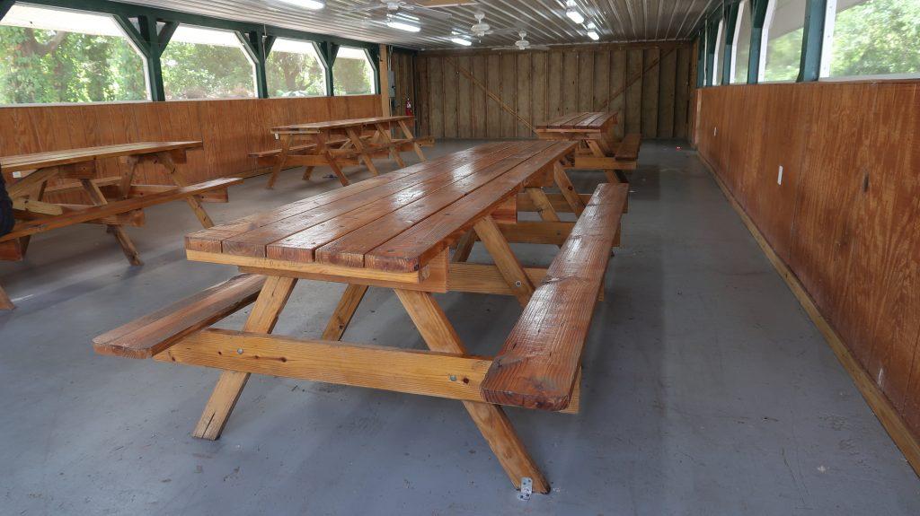 Pavilion - Inside