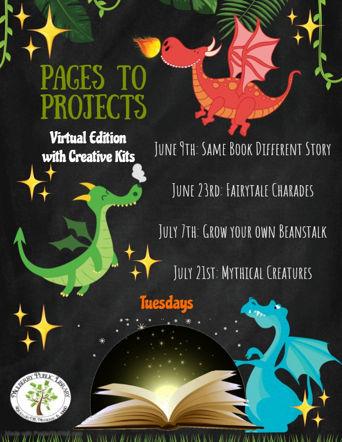 Pages to Projects