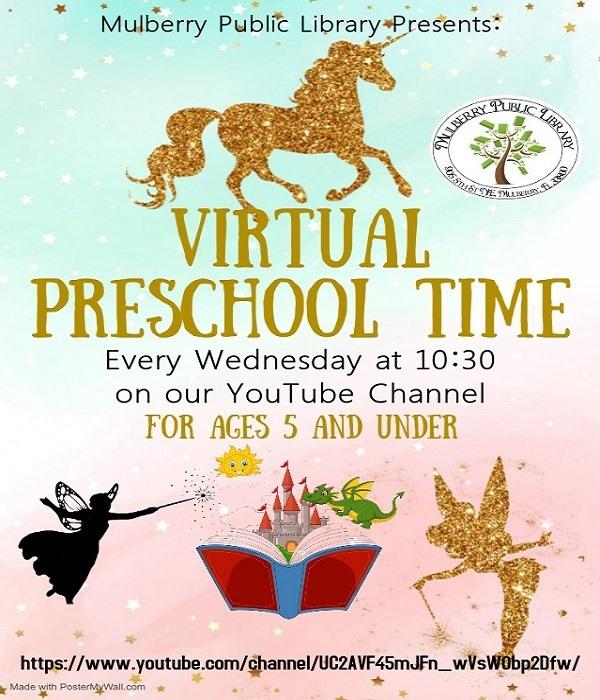 Virtual Preschool Time