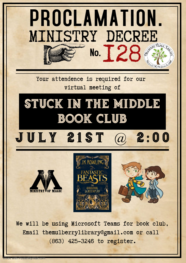 Stuck in the Middle Book Club