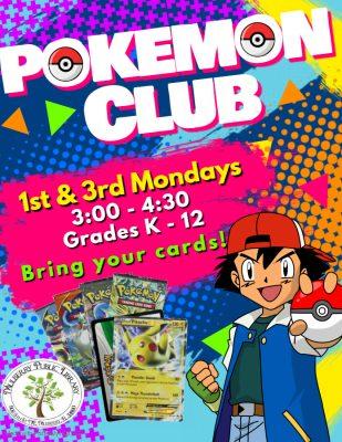 Pokemon Club Flyer