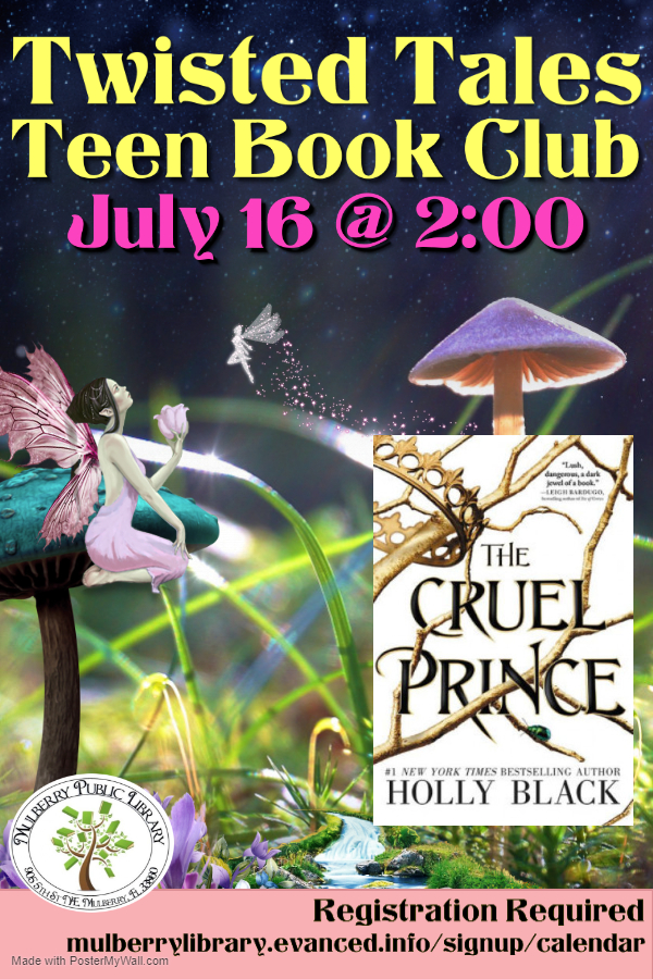 Twisted Tales for Teens Book Club