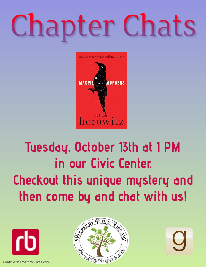 Chapter Chats October Flyer
