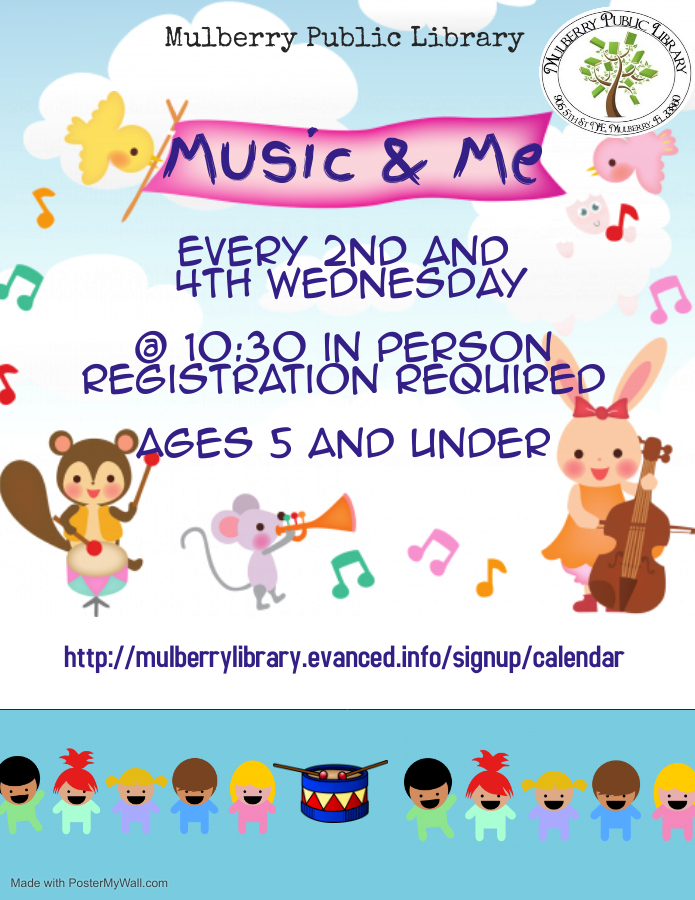 Music and Me Flyer