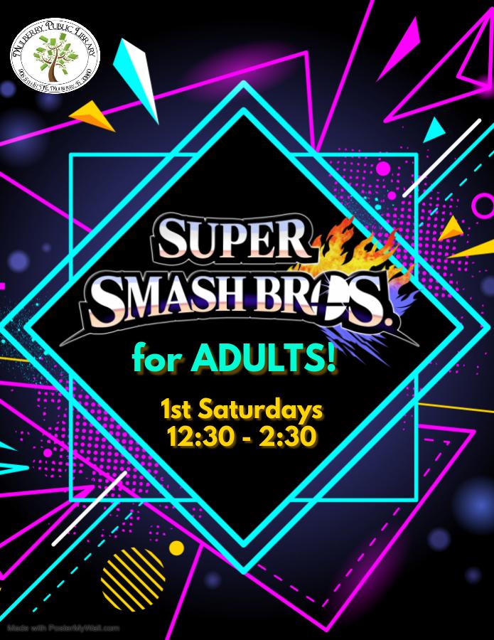 Adult Smash Flyer