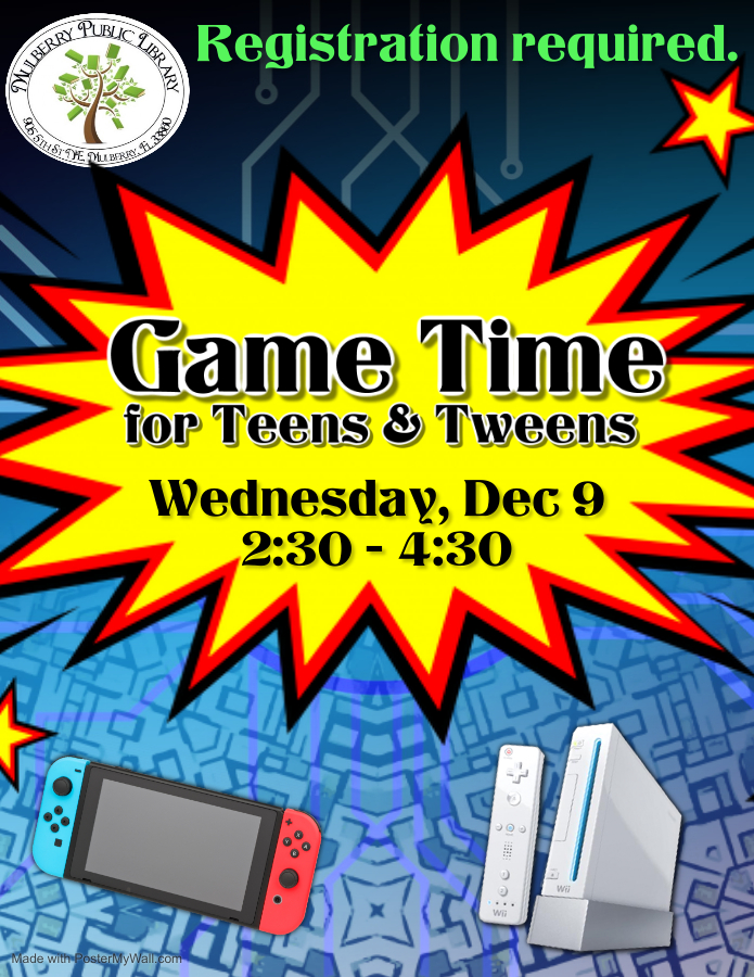 Game Time Flyer