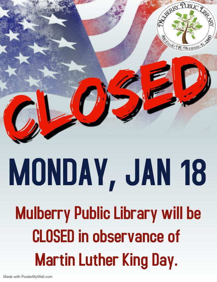 MLK Closure Alert Flyer