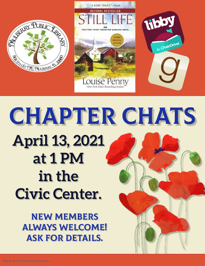Chapter Chats Flyer