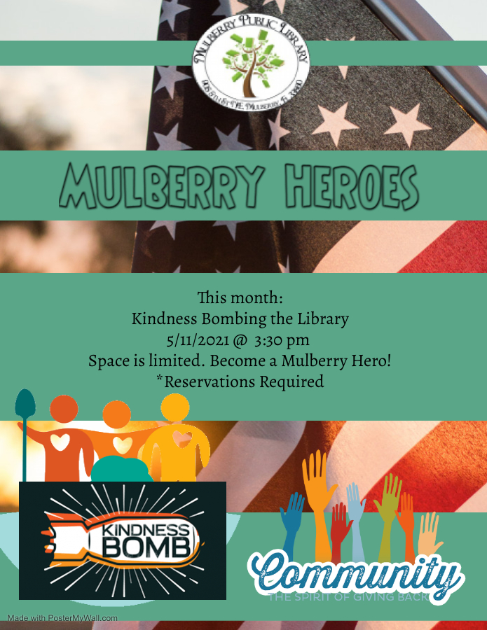 Mulberry Heroes Flyer
