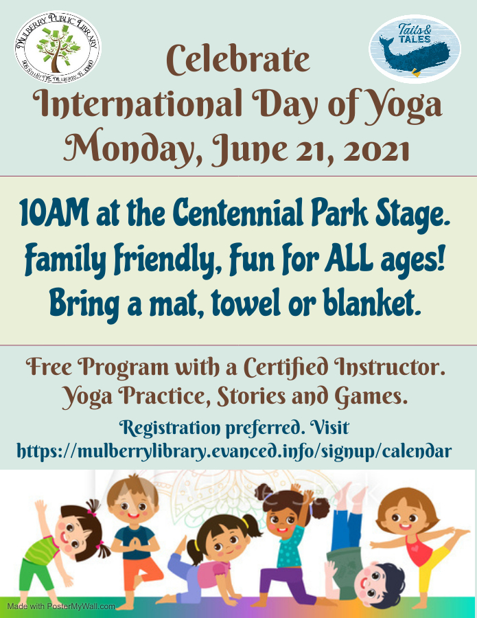 International Day of Yoga Flyer