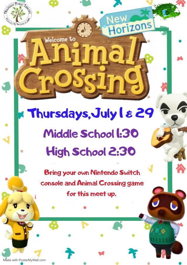 Animal Crossing Flyer