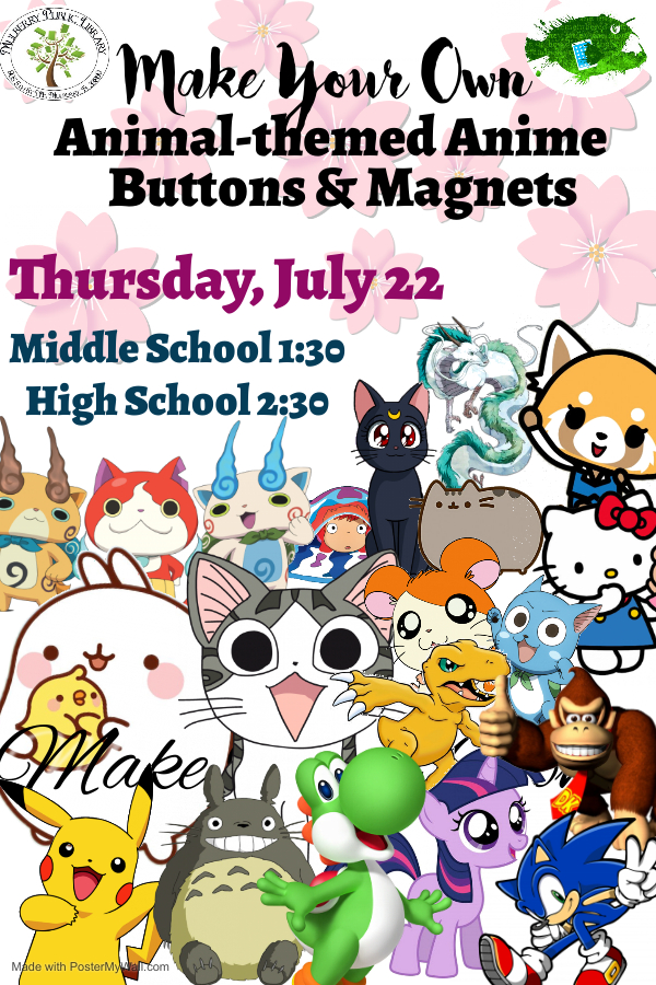 Anime Buttons Flyer
