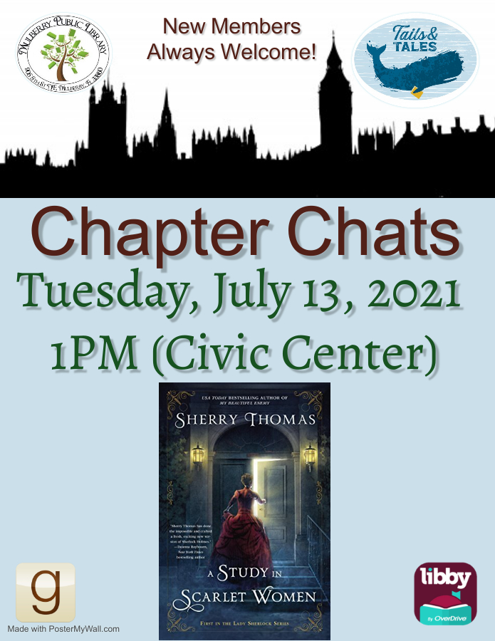 Chapter Chats July Flyer
