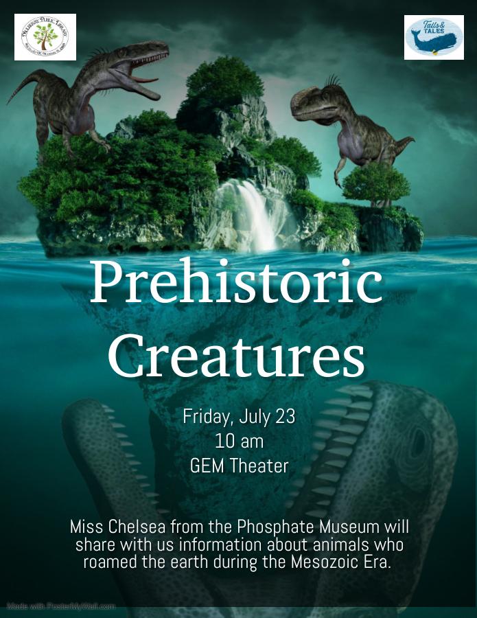 Prehistoric Creatures Flyer