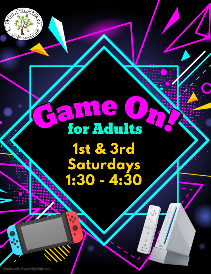 Game on for Adults Flyer