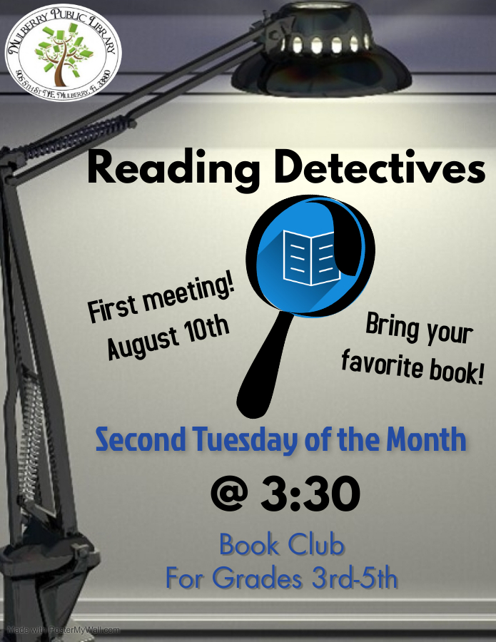 Reading Detectives Flyer