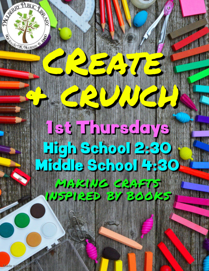 Create and Crunch Flyer