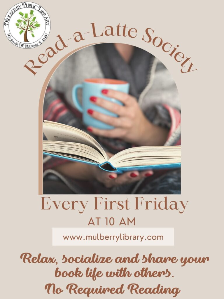 Read-a-Latte Society Flyer